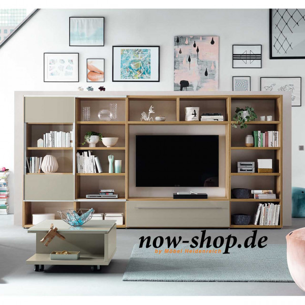 now by h lsta time wohnwand wohnw nde wohnen now shop. Black Bedroom Furniture Sets. Home Design Ideas