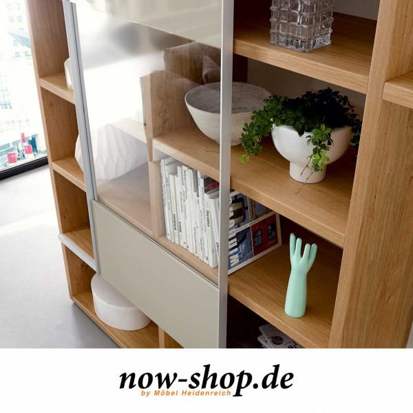 Now By Hulsta Time Schiebeturen Mit Klarglasausschnitt