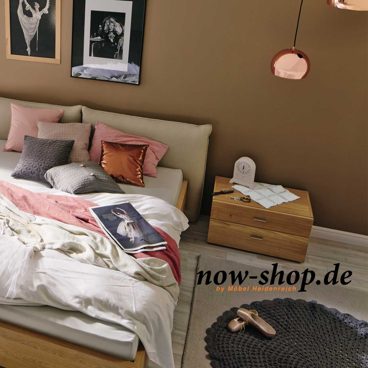 now by h lsta sleeping konsole nachtschr nke schlafzimmer now shop. Black Bedroom Furniture Sets. Home Design Ideas