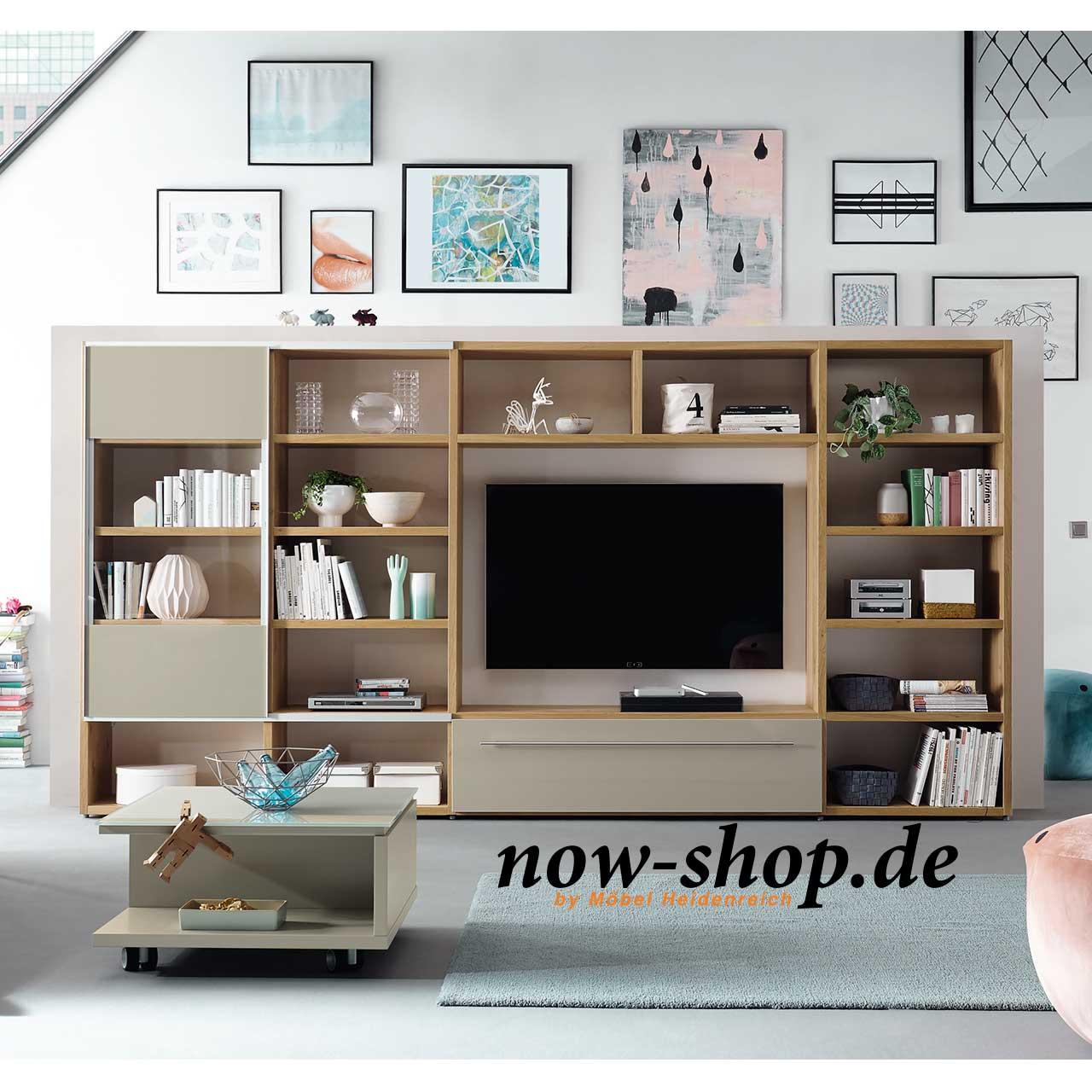 Now by h lsta time wohnwand wohnw nde wohnen now shop for Wohnen shop