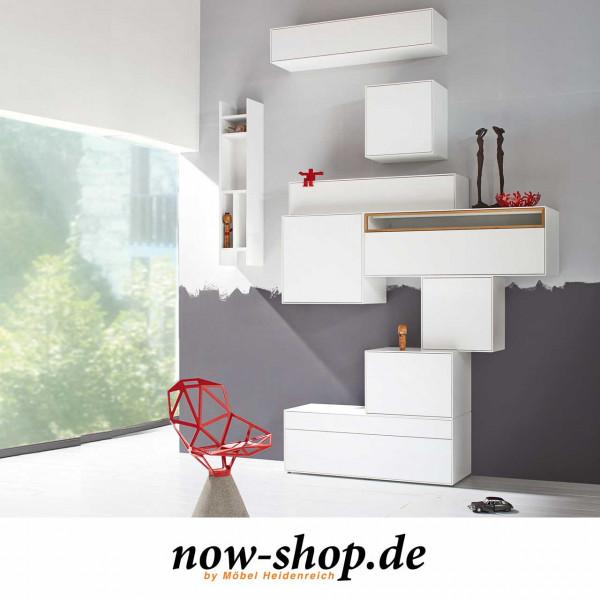 now! by hülsta – easy Wohnwand Kombination 007