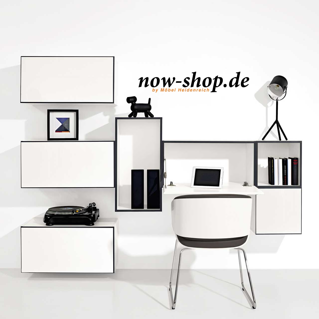 now by h lsta to go 7 boxen set 12 schneewei oder schiefergrau schlafzimmer now shop. Black Bedroom Furniture Sets. Home Design Ideas