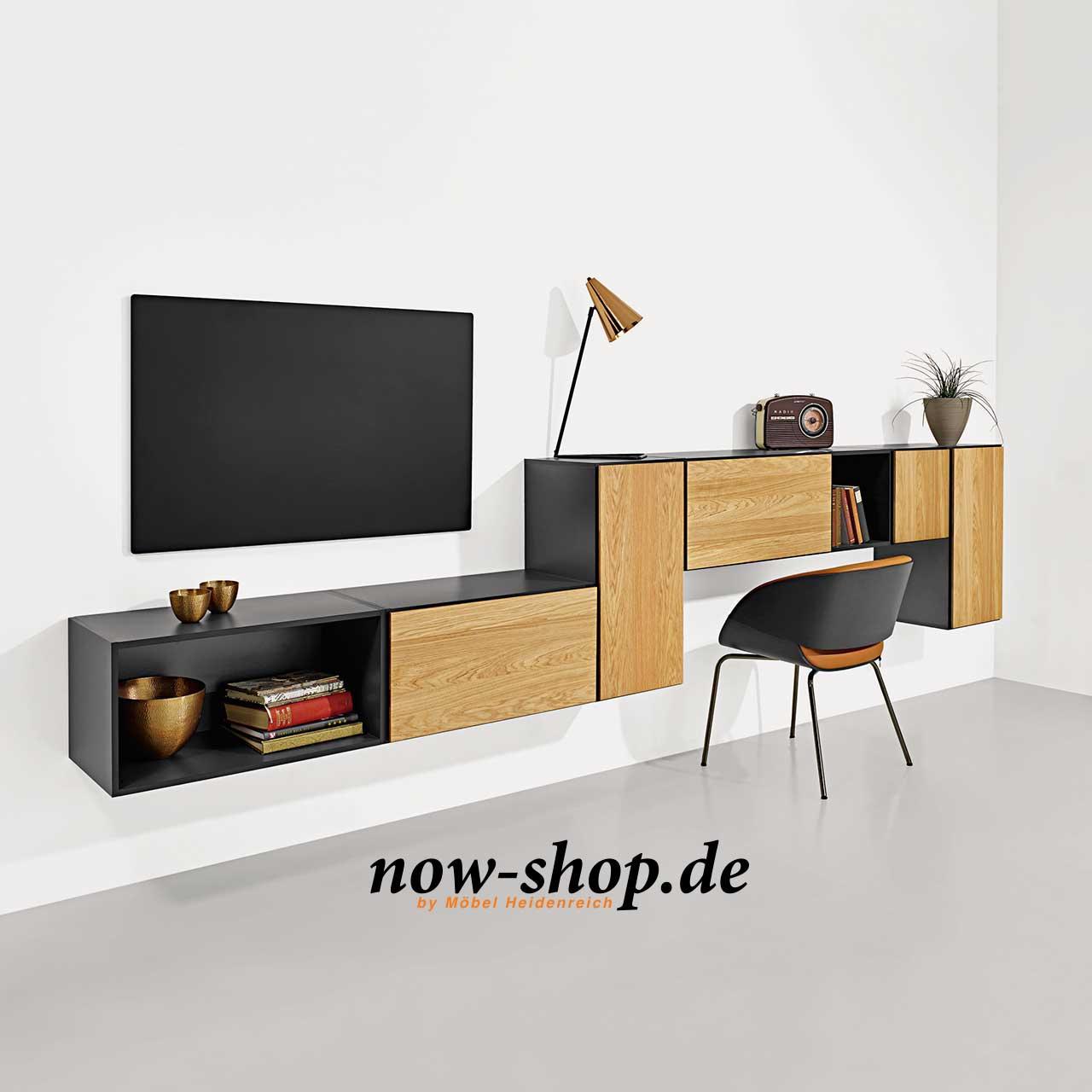 now by h lsta to go 7 boxen set 8 schiefergrau oder schneewei sideboards wohnen now shop. Black Bedroom Furniture Sets. Home Design Ideas