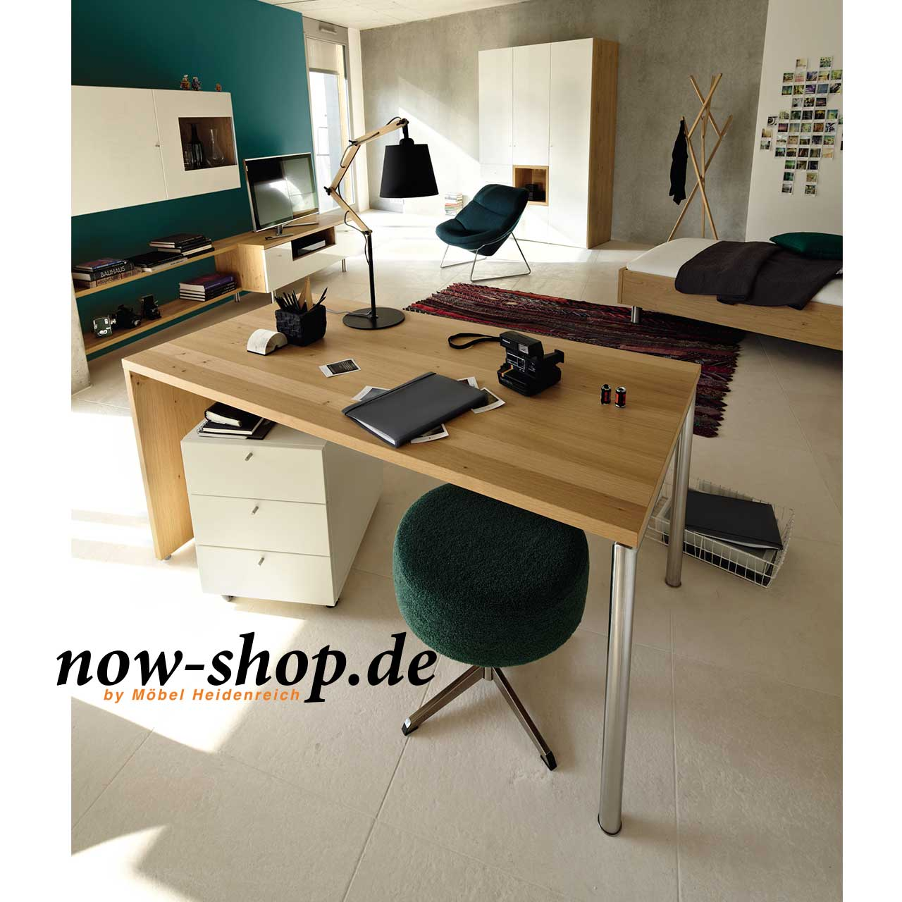 now by h lsta home office schreibtisch schreibtische arbeiten now shop. Black Bedroom Furniture Sets. Home Design Ideas