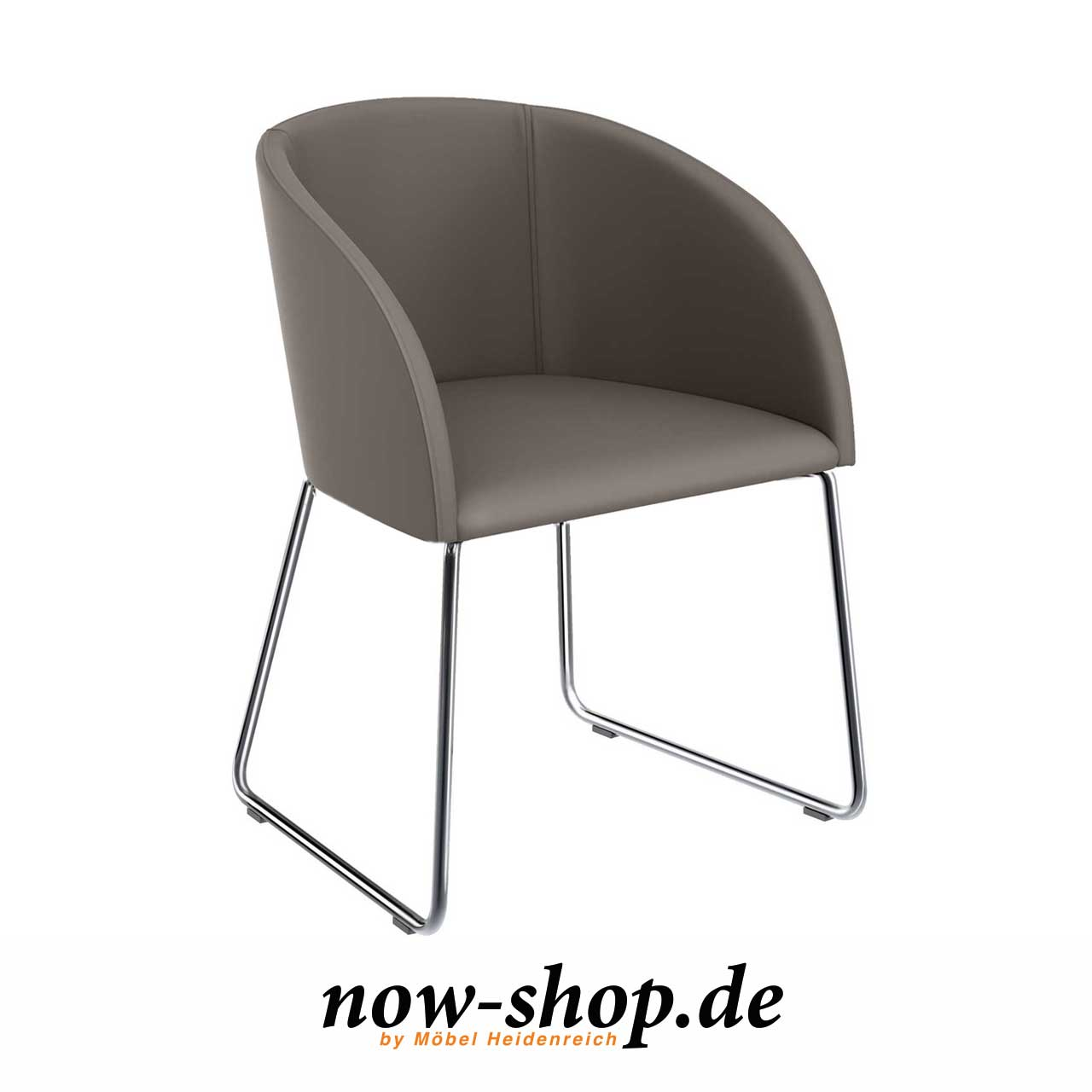 S19 by now25 hülsta – Stuhl 1 taupe CxdBoer