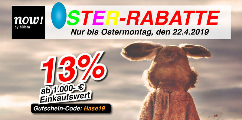 +++ Oster-Rabatt +++ Bis Ostermontag sparen +++
