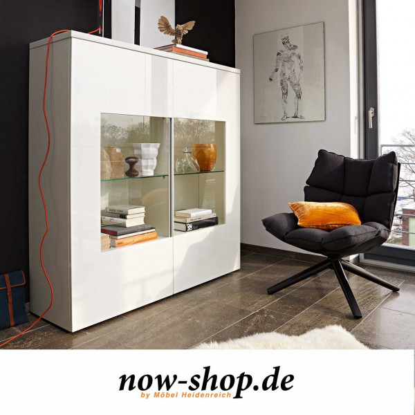 now! by hülsta - time Highboard