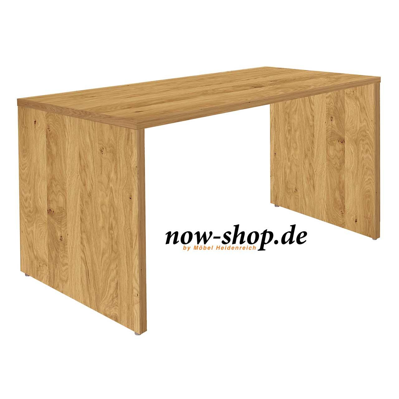now by h lsta vision schreibtisch natureiche schreibtische arbeiten now shop. Black Bedroom Furniture Sets. Home Design Ideas