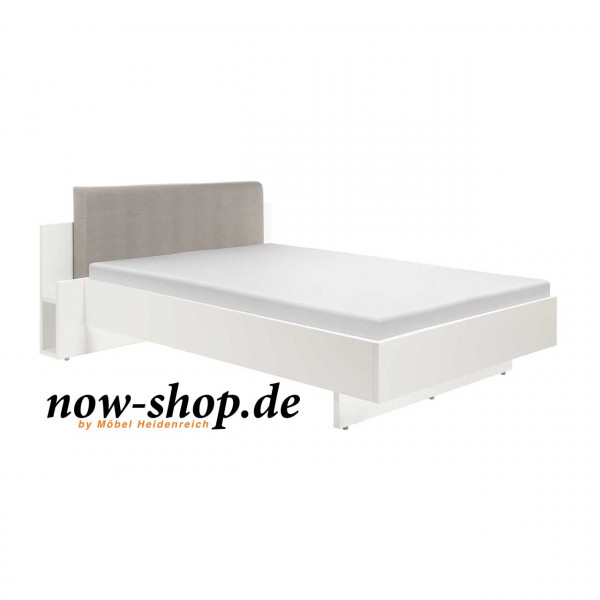 now by h lsta basic bett mit polsterkopfteil 3241 betten schlafzimmer now shop. Black Bedroom Furniture Sets. Home Design Ideas
