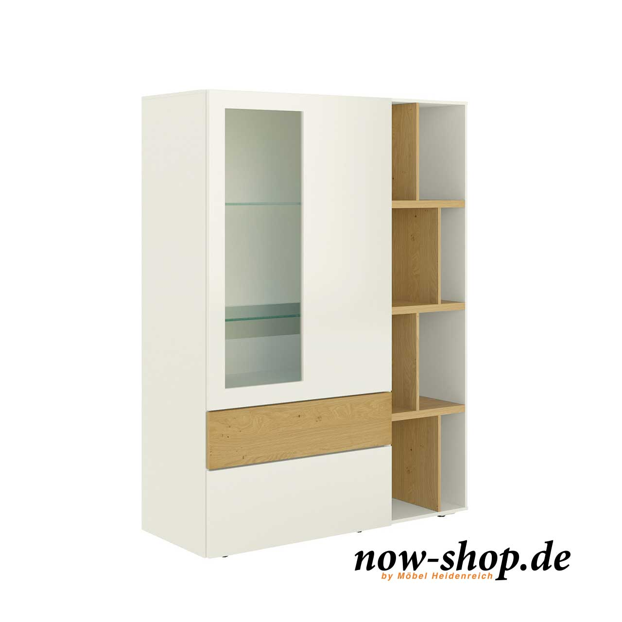 now by h lsta vision highboard vitrinen wohnen now shop. Black Bedroom Furniture Sets. Home Design Ideas