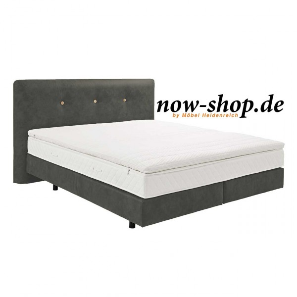 now by h lsta boxspring bett schiefergrau betten schlafzimmer now shop. Black Bedroom Furniture Sets. Home Design Ideas