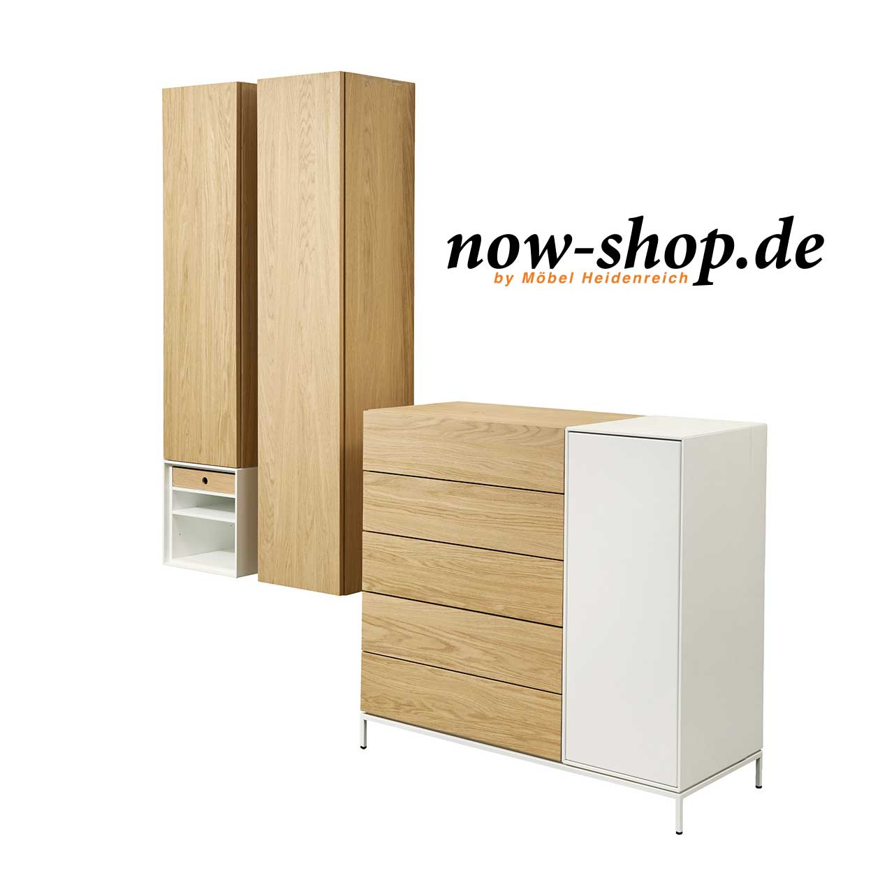 now by h lsta spin highboard kombination highboards wohnen now shop. Black Bedroom Furniture Sets. Home Design Ideas