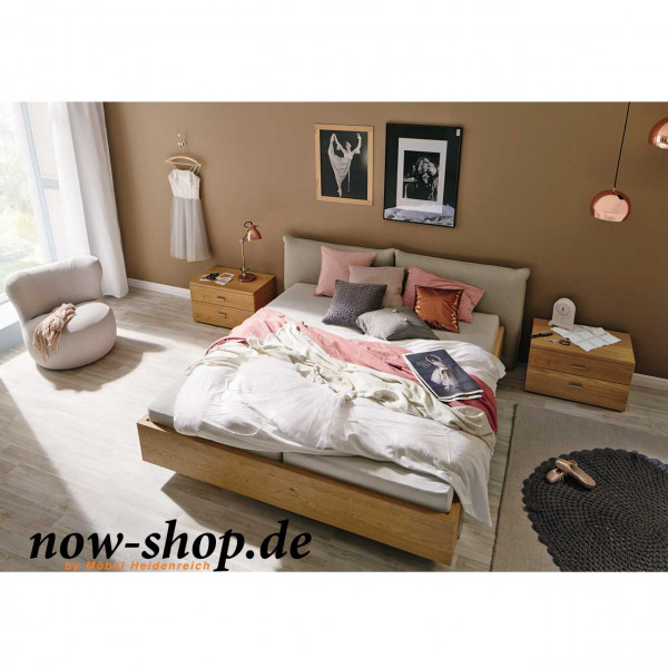 now by h lsta no 14 bett mit polsterkopfteil betten schlafzimmer now shop. Black Bedroom Furniture Sets. Home Design Ideas
