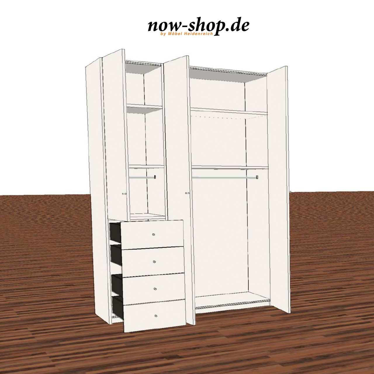 now by h lsta m bel wardrobes flexx kleiderschrank. Black Bedroom Furniture Sets. Home Design Ideas