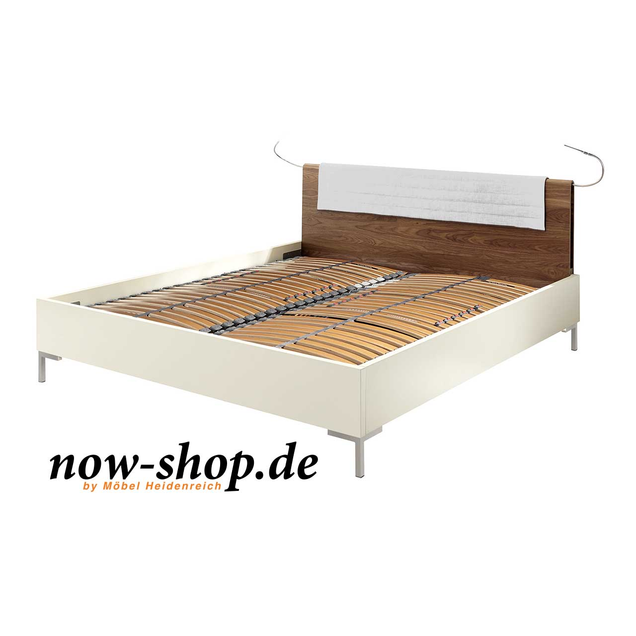 now by h lsta sleeping bett mit aufsteckkopfteil now shop. Black Bedroom Furniture Sets. Home Design Ideas