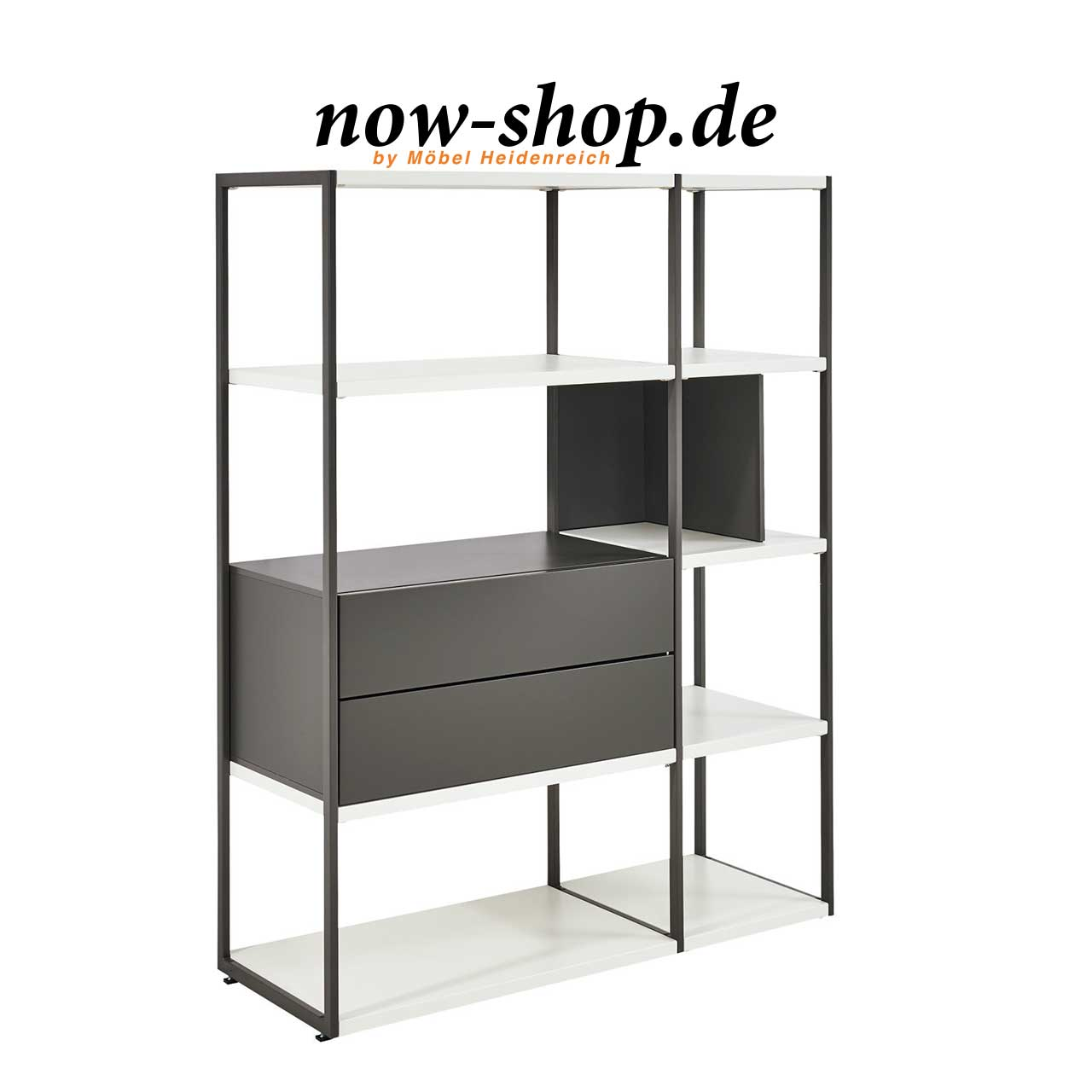now by h lsta vision regal regale wohnen now shop. Black Bedroom Furniture Sets. Home Design Ideas
