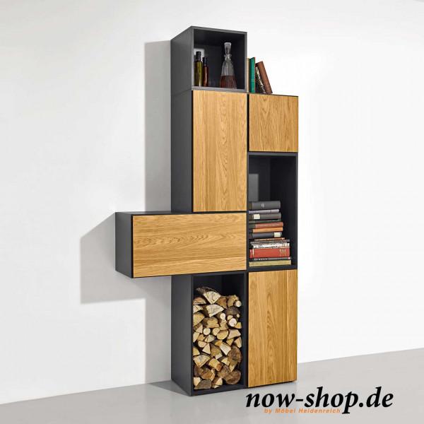 Now By Hülsta To Go 7 Boxen Set 3 Schiefergrau Regale Wohnen