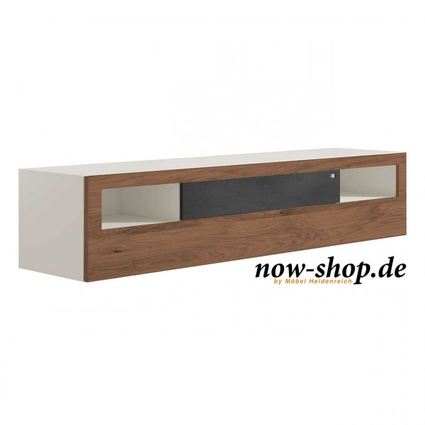 now by h lsta vision lowboard mit stoffblende now shop. Black Bedroom Furniture Sets. Home Design Ideas