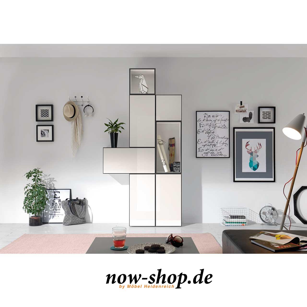 now by h lsta to go 7 boxen set 10 schneewei oder schiefergrau schlafzimmer now shop. Black Bedroom Furniture Sets. Home Design Ideas