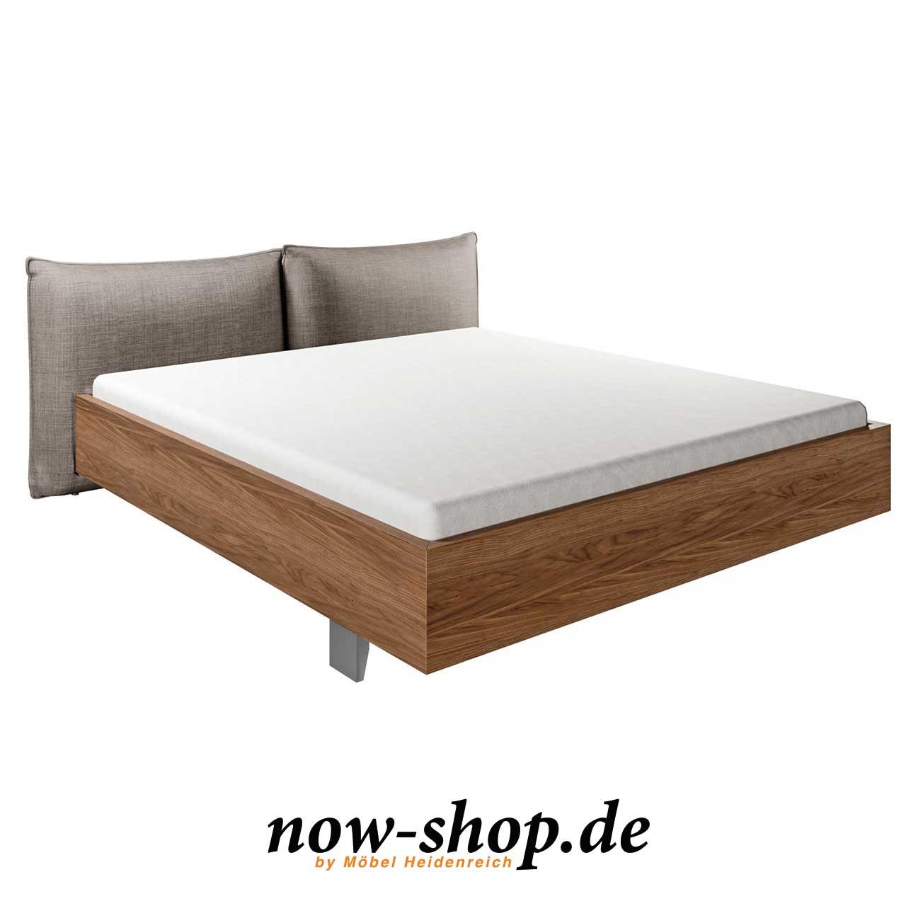 now! by hülsta - No. 14 Bett mit Polsterkopfteil