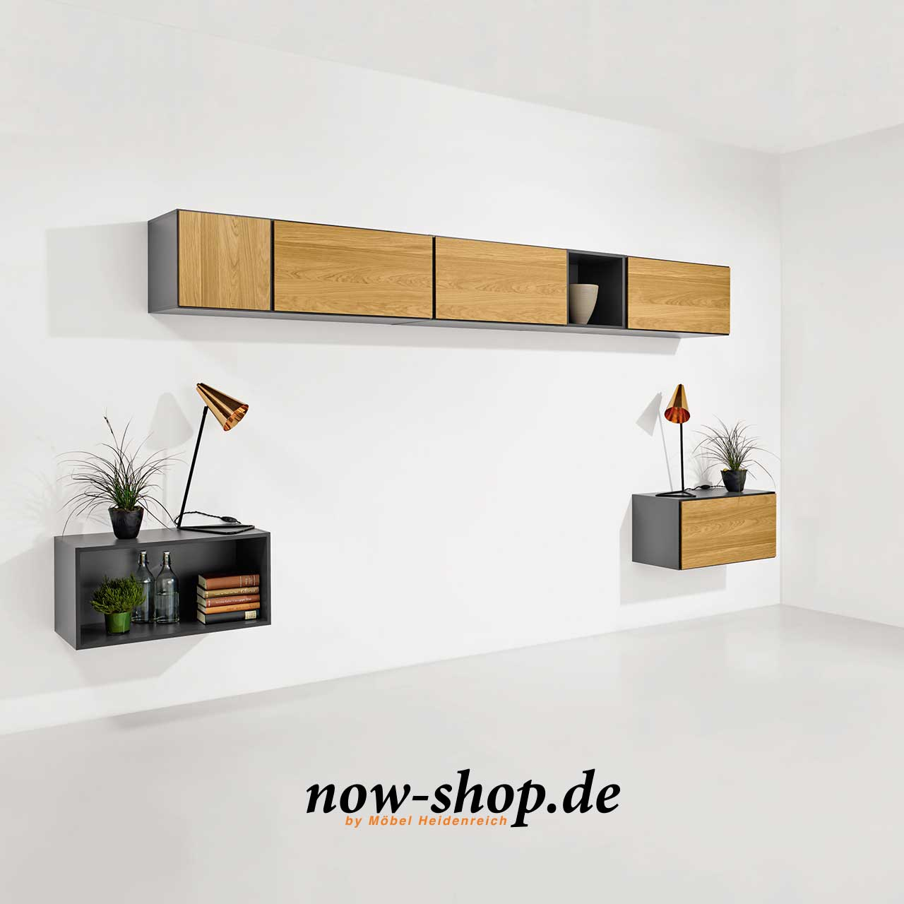 now by h lsta to go 7 boxen set 15 schiefergrau oder. Black Bedroom Furniture Sets. Home Design Ideas
