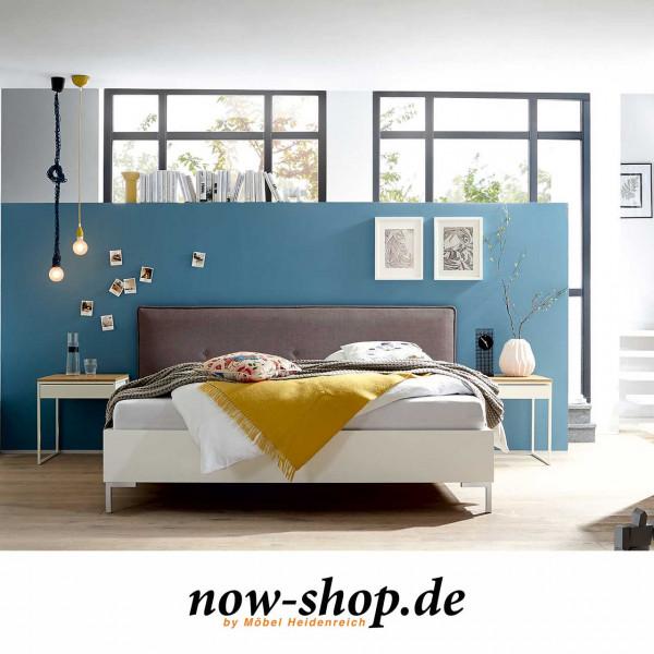now by h lsta sleeping bett mit polsterkopfteil now shop. Black Bedroom Furniture Sets. Home Design Ideas