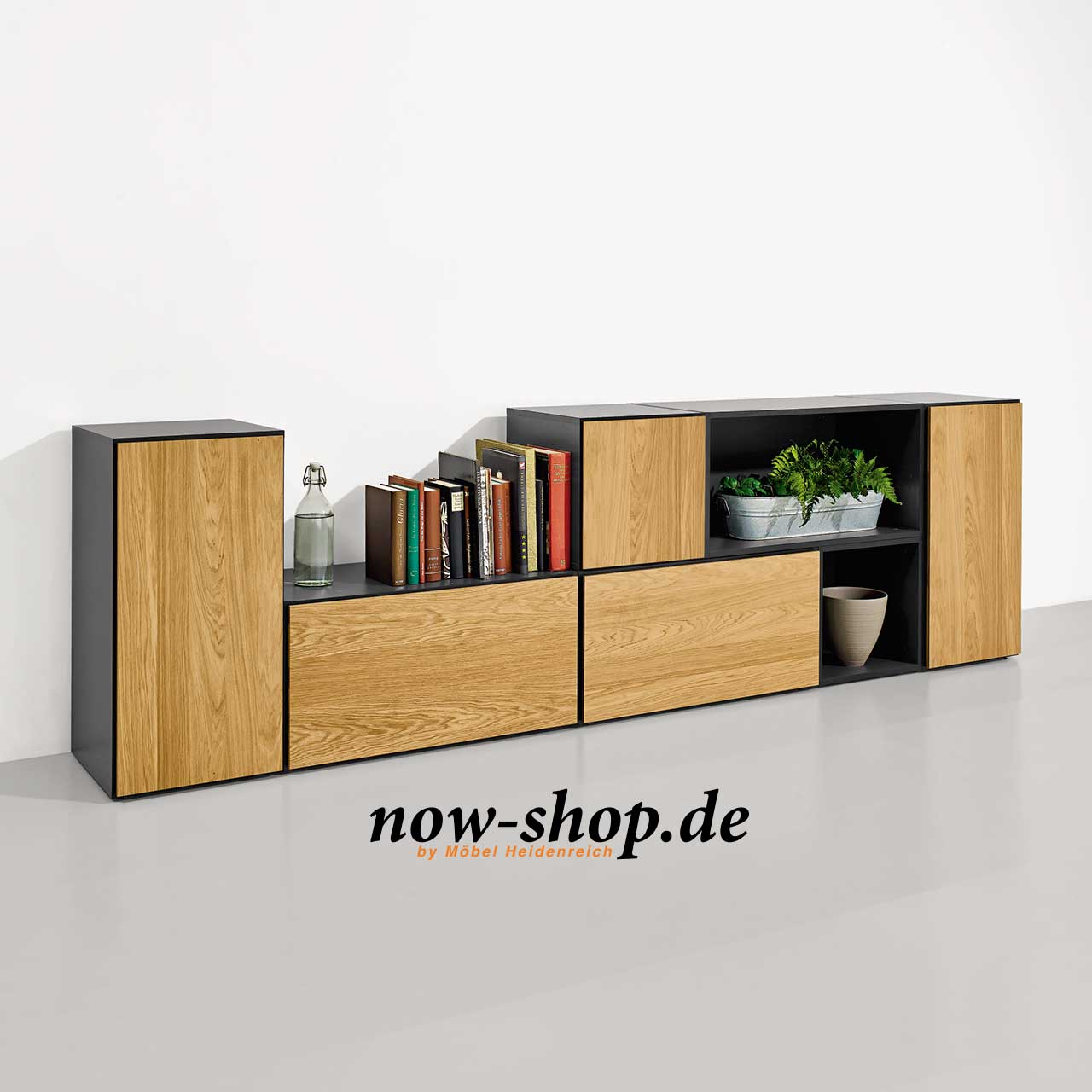 now by h lsta to go 7 boxen set 14 schiefergrau oder. Black Bedroom Furniture Sets. Home Design Ideas